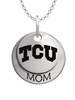 Texas Christian Horned Frogs MOM Necklace