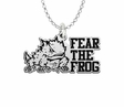 Texas Christian Horned Frogs Spirit Mark Charm