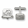 Texas Christian Horned Frogs Stainless Steel Cufflinks