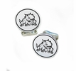 Texas Christian Horned Frogs Sterling Silver Cufflinks