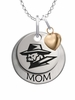 Texas El Paso Miners MOM Necklace with Heart Charm