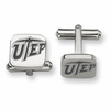 Texas El Paso Miners Stainless Steel Cufflinks