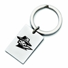 Texas El Paso Miners Stainless Steel Key Ring