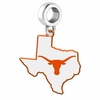 Texas Longhorns Logo Dangle Charm