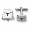 Texas Longhorns Stainless Steel Cufflinks