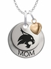 Texas State Bobcats MOM Necklace with Heart Charm