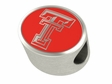 Texas Tech Red Raiders Enamel Bead