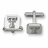 Texas Tech Red Raiders Stainless Steel Cufflinks