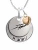 Toledo Rockets Alumni Necklace with Heart Accent
