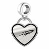 Toledo Rockets Border Heart Dangle Charm