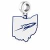 Toledo Rockets Logo Dangle Charm