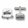 Toledo Rockets Stainless Steel Cufflinks