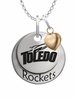 Toledo Rockets with Heart Accent