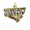 Towson Tigers 14KT Gold Charm