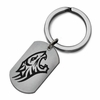 Towson Tigers Stainless Steel Key Ring
