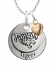 Towson Tigers with Heart Accent