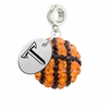 Troy Trojans Crystal Drop Charm