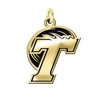 Tulane Green Wave 14KT Gold Charm