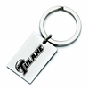 Tulane Green Wave Stainless Steel Key Ring