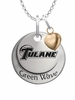 Tulane Green Wave with Heart Accent