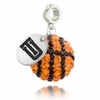 Tulsa Golden Hurricanes Crystal Drop Charm
