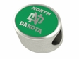 North Dakota Athletics Enamel Bead