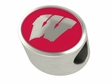 Wisconsin Badgers Enamel Bead