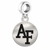 Air Force Falcons Round Dangle Charm