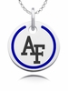 US Air Force Round Enamel Charm