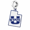 Utah State Aggies Logo Dangle Charm