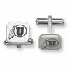 Utah Utes Stainless Steel Cufflinks