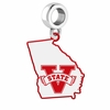 Valdosta State Blazers Logo Dangle Charm