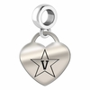 Vanderbilt Engraved Heart Dangle Charm