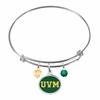 Vermont Catamounts Bangle Bracelet