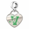 Vermont Catamounts Color Heart Dangle