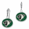Vermont Catamounts Enamel CZ Cluster Earrings