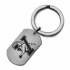 Vermont Catamounts Stainless Steel Key Ring