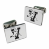 Vermont Catamounts Sterling Silver Cuff Links