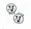 Vermont Catamounts Sterling Silver Cufflinks