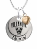 Villanova Wildcats Alumni Necklace with Heart Accent