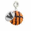 Villanova Wildcats Crystal Drop Charm