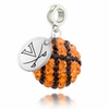 Virginia Cavaliers Crystal Drop Charm