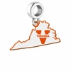 Virginia Cavaliers Logo Dangle Charm