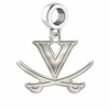 Virginia Cavaliers Dangle Charm