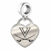Virginia Engraved Heart Dangle Charm