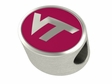 Virginia Tech Hokies Enamel Bead
