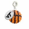 Virginia Tech Hokies Crystal Drop Charm