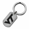 Virginia Tech Stainless Steel Key Ring