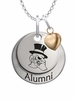 Wake Forest Demon Deacons Alumni Necklace with Heart Accent