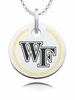 Wake Forest Demon Deacons Round Enamel Charm
